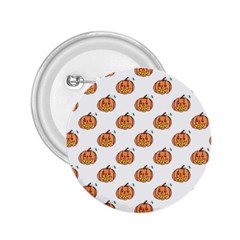 Face Mask Ghost Halloween Pumpkin Pattern 2 25  Buttons by Alisyart