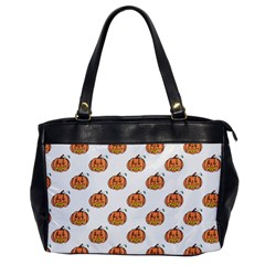 Face Mask Ghost Halloween Pumpkin Pattern Office Handbags by Alisyart