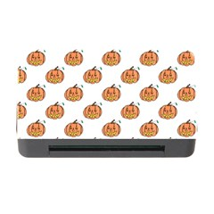 Face Mask Ghost Halloween Pumpkin Pattern Memory Card Reader With Cf by Alisyart