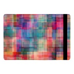 Rainbow Prism Plaid  Apple Ipad Pro 10 5   Flip Case by KirstenStar