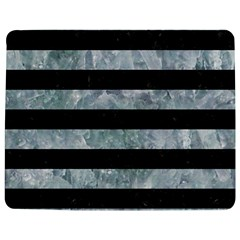 Stripes2 Black Marble & Ice Crystals Jigsaw Puzzle Photo Stand (rectangular) by trendistuff