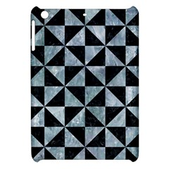 Triangle1 Black Marble & Ice Crystals Apple Ipad Mini Hardshell Case by trendistuff