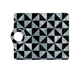 Triangle1 Black Marble & Ice Crystals Kindle Fire Hdx 8 9  Flip 360 Case by trendistuff