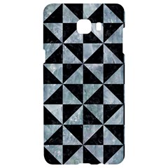Triangle1 Black Marble & Ice Crystals Samsung C9 Pro Hardshell Case  by trendistuff