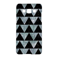 Triangle2 Black Marble & Ice Crystals Samsung Galaxy A5 Hardshell Case  by trendistuff