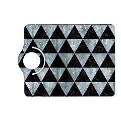 Triangle3 Black Marble & Ice Crystals Kindle Fire Hd (2013) Flip 360 Case by trendistuff