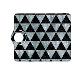 Triangle3 Black Marble & Ice Crystals Kindle Fire Hdx 8 9  Flip 360 Case by trendistuff
