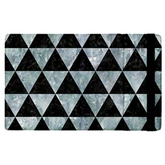 Triangle3 Black Marble & Ice Crystals Apple Ipad Pro 12 9   Flip Case by trendistuff