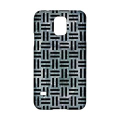 Woven1 Black Marble & Ice Crystals Samsung Galaxy S5 Hardshell Case  by trendistuff