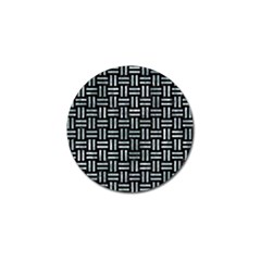 Woven1 Black Marble & Ice Crystals (r) Golf Ball Marker (10 Pack) by trendistuff