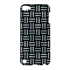 Woven1 Black Marble & Ice Crystals (r) Apple Ipod Touch 5 Hardshell Case by trendistuff