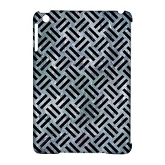 Woven2 Black Marble & Ice Crystals Apple Ipad Mini Hardshell Case (compatible With Smart Cover) by trendistuff