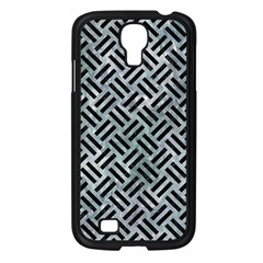 Woven2 Black Marble & Ice Crystals Samsung Galaxy S4 I9500/ I9505 Case (black) by trendistuff