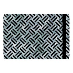 Woven2 Black Marble & Ice Crystals Apple Ipad Pro 10 5   Flip Case