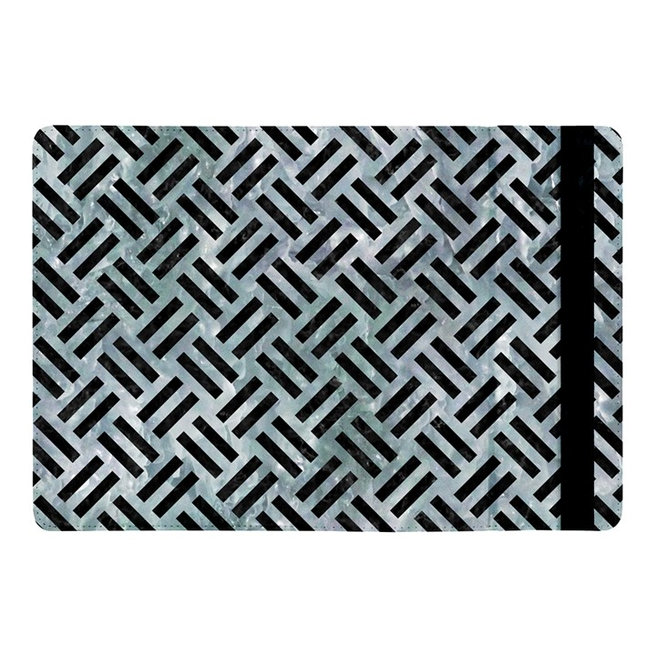 WOVEN2 BLACK MARBLE & ICE CRYSTALS Apple iPad Pro 10.5   Flip Case