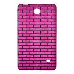 Brick1 Black Marble & Pink Brushed Metal Samsung Galaxy Tab 4 (8 ) Hardshell Case  by trendistuff