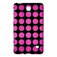 Circles1 Black Marble & Pink Brushed Metal (r) Samsung Galaxy Tab 4 (8 ) Hardshell Case  by trendistuff
