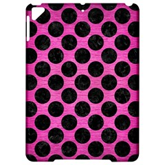 Circles2 Black Marble & Pink Brushed Metal Apple Ipad Pro 9 7   Hardshell Case by trendistuff