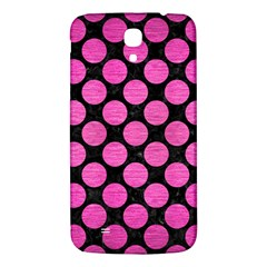 Circles2 Black Marble & Pink Brushed Metal (r) Samsung Galaxy Mega I9200 Hardshell Back Case by trendistuff