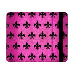 Royal1 Black Marble & Pink Brushed Metal (r) Samsung Galaxy Tab Pro 8 4  Flip Case by trendistuff