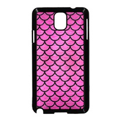 Scales1 Black Marble & Pink Brushed Metal Samsung Galaxy Note 3 Neo Hardshell Case (black) by trendistuff