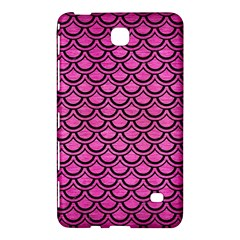 Scales2 Black Marble & Pink Brushed Metal Samsung Galaxy Tab 4 (8 ) Hardshell Case  by trendistuff