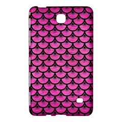 Scales3 Black Marble & Pink Brushed Metal Samsung Galaxy Tab 4 (8 ) Hardshell Case