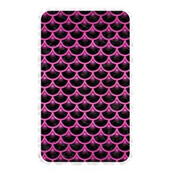 Scales3 Black Marble & Pink Brushed Metal (r) Memory Card Reader by trendistuff