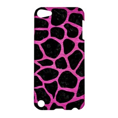 Skin1 Black Marble & Pink Brushed Metal Apple Ipod Touch 5 Hardshell Case by trendistuff