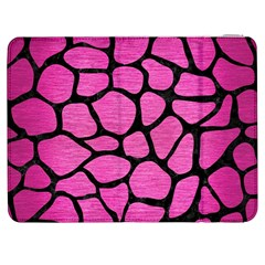 Skin1 Black Marble & Pink Brushed Metal (r) Samsung Galaxy Tab 7  P1000 Flip Case by trendistuff
