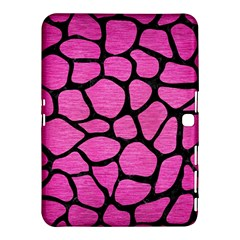 Skin1 Black Marble & Pink Brushed Metal (r) Samsung Galaxy Tab 4 (10 1 ) Hardshell Case  by trendistuff