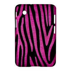 Skin4 Black Marble & Pink Brushed Metal Samsung Galaxy Tab 2 (7 ) P3100 Hardshell Case  by trendistuff