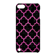 Tile1 Black Marble & Pink Brushed Metal (r) Apple Ipod Touch 5 Hardshell Case With Stand by trendistuff