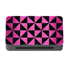 Triangle1 Black Marble & Pink Brushed Metal Memory Card Reader With Cf by trendistuff