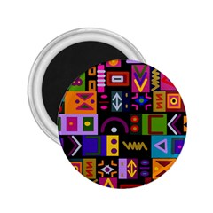 Abstract A Colorful Modern Illustration 2 25  Magnets by Celenk