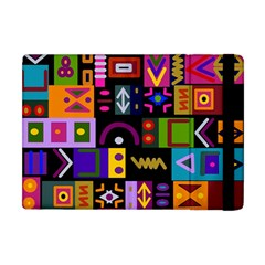 Abstract A Colorful Modern Illustration Apple Ipad Mini Flip Case by Celenk