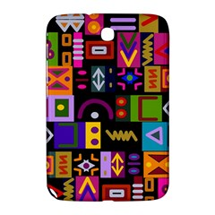 Abstract A Colorful Modern Illustration Samsung Galaxy Note 8 0 N5100 Hardshell Case  by Celenk