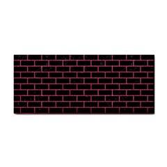 Brick1 Black Marble & Pink Denim (r) Cosmetic Storage Cases by trendistuff