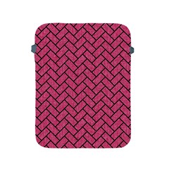 Brick2 Black Marble & Pink Denim Apple Ipad 2/3/4 Protective Soft Cases by trendistuff