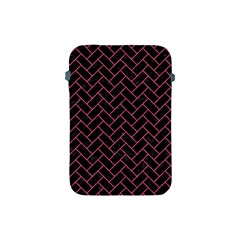Brick2 Black Marble & Pink Denim (r) Apple Ipad Mini Protective Soft Cases by trendistuff
