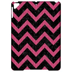 Chevron9 Black Marble & Pink Denim (r) Apple Ipad Pro 9 7   Hardshell Case by trendistuff