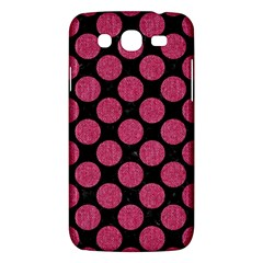 Circles2 Black Marble & Pink Denim (r) Samsung Galaxy Mega 5 8 I9152 Hardshell Case  by trendistuff