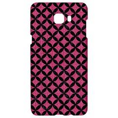 Circles3 Black Marble & Pink Denim Samsung C9 Pro Hardshell Case  by trendistuff