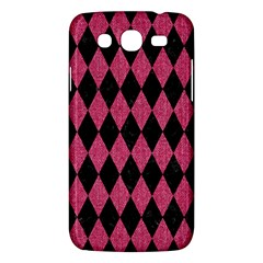 Diamond1 Black Marble & Pink Denim Samsung Galaxy Mega 5 8 I9152 Hardshell Case  by trendistuff