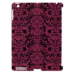 Damask2 Black Marble & Pink Denim (r) Apple Ipad 3/4 Hardshell Case (compatible With Smart Cover) by trendistuff