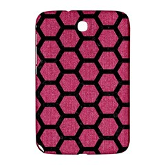 Hexagon2 Black Marble & Pink Denim Samsung Galaxy Note 8 0 N5100 Hardshell Case  by trendistuff