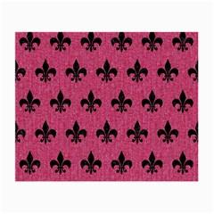 Royal1 Black Marble & Pink Denim (r) Small Glasses Cloth by trendistuff