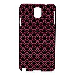 Scales2 Black Marble & Pink Denim (r) Samsung Galaxy Note 3 N9005 Hardshell Case by trendistuff