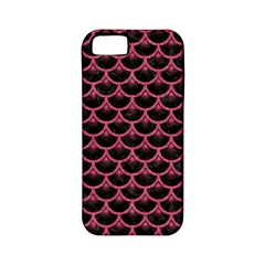 Scales3 Black Marble & Pink Denim (r) Apple Iphone 5 Classic Hardshell Case (pc+silicone) by trendistuff