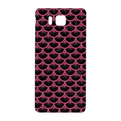 Scales3 Black Marble & Pink Denim (r) Samsung Galaxy Alpha Hardshell Back Case by trendistuff